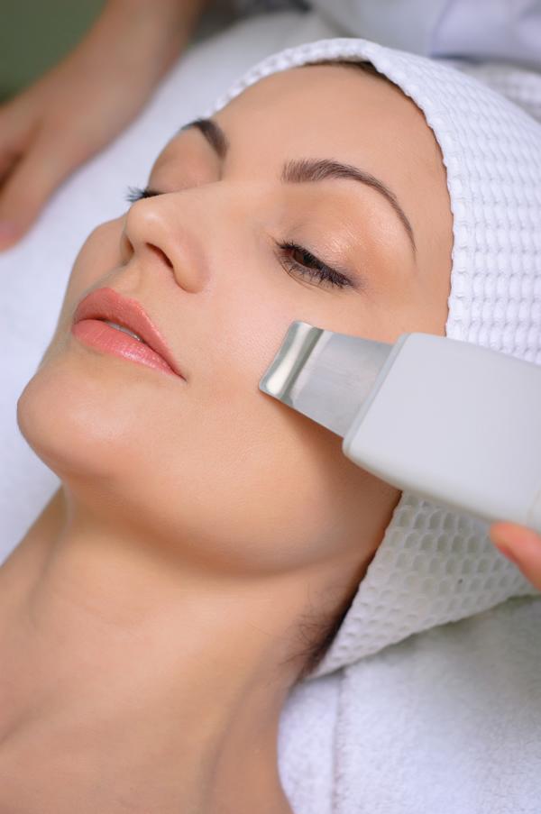 pulizia viso ad ultrasuoni centro estetico SunBody Roma via tripoli